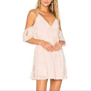 Lovers Friends Wishful Thinking Dress Nude